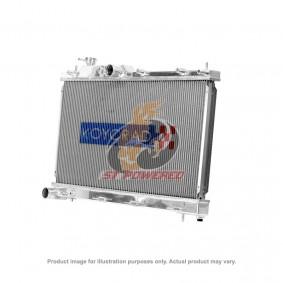 KOYO ALUMINIUM RACING RADIATOR N-FLO (DUAL PASS) NISSAN SILVIA SR20DET 1995-2002
