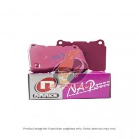 N-BRAKE B/PAD - TOYOTA COROLLA ALTIS 2000-2014(FRONT)