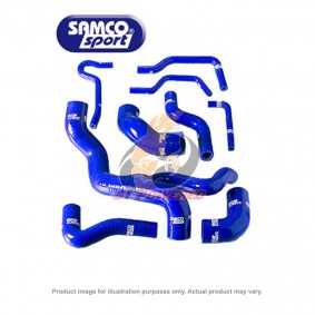 SAMCO COOLANT HOSE KIT BLACK HONDA CRZ -2010+