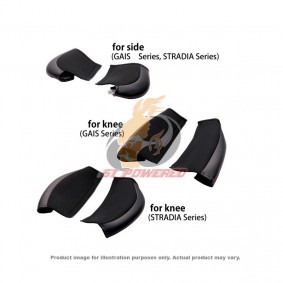 BRIDE PROTECT PAD FOR KNEE STRADIA SERIES (BLACK)