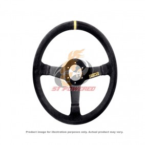 SPARCO STEERING WHEEL 345 BLACK SUEDE