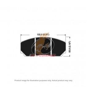AP RACING BRAKE PADS 4 POT APF404 MODEL