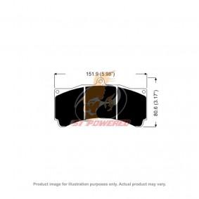 AP RACING BRAKE PADS 6 POT APF404 MODEL