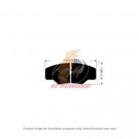 AP RACING BRAKE PADS 4 POT DS2500 MODEL