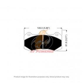 AP RACING BRAKE PADS 6 POT DS2500 MODEL