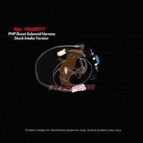 BOOST LOGIC P&P BOOST SOLENOID KIT - BOOST LOGIC INTAKE MANIFOLD NISSAN GTR R35 2009-PRESENT