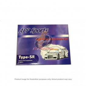 APP BRAKE PAD KIT TYPE-SR NISSAN FAIRLADY Z33 2002-2008 (FRONT)