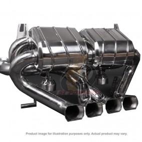 POWER CRAFT HYBRID EXHAUST MUFFLER SYSTEM SQUARE TAIL LAMBORGHINI AVENTADOR LP700-4