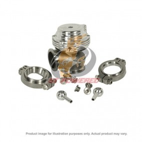 TIAL MV-S WASTEGATE 38MM SILVER