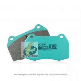 PMU BRAKE PAD RACING 999 ON FRONT - MERCEDES A45