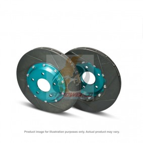 PMU SUPER SCR PRO BRAKE ROTOR ON FRONT - MITSUBISHI EVO 4-9