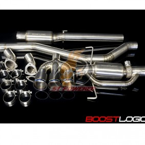 BOOST LOGIC CIVIC TYPE-R TITANIUM EXHAUST