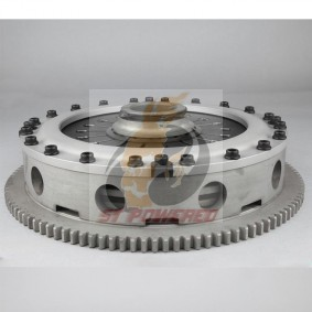 ATS TRIPLE METAL CLUTCH KIT (PULL TYPE) - EVO 4-9
